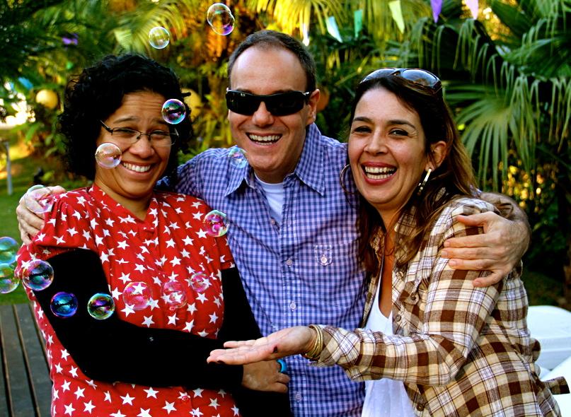 Keco Brandão com Ana Sol e Denise Mello (2012)