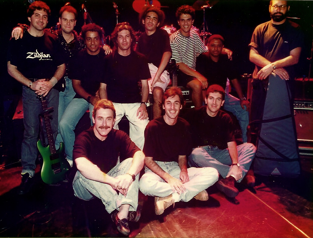 "Banda do programa ""Cia da Música"". TV Gazeta. (1994)"