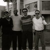 Fazendo show com Pedro Camargo Mariano em Salvador
